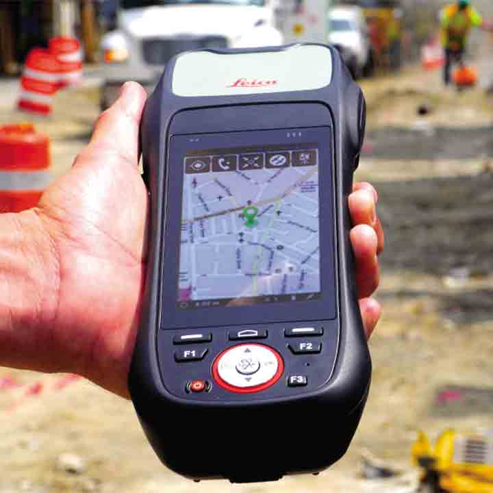 Leica Zeno 20 high-accuracy handheld GNSS/GIS | C R Kennedy Survey