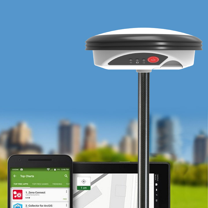 Leica Zeno GG04 Smart Antenna for iOS, Android and Windows | C R