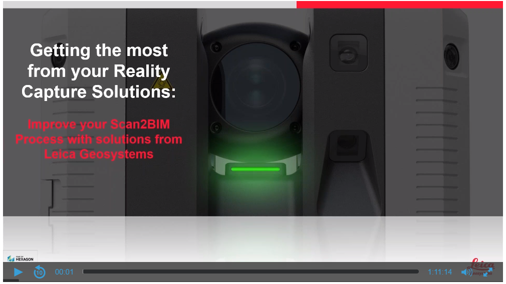 Improve your Scan2BIM Process with solutions from Leica Geosystems
